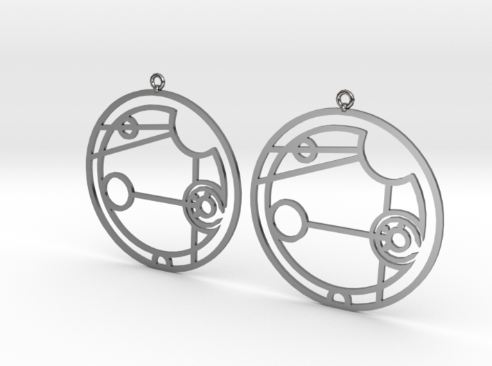 Addison - Earrings - Series 1 3d printed