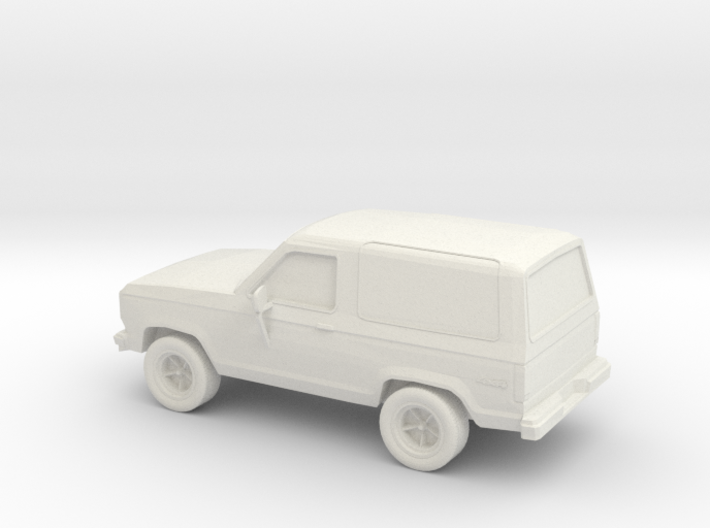1/87 1987 Ford Bronco II 4X4 3d printed