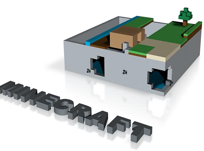 Minecraft 3d printed