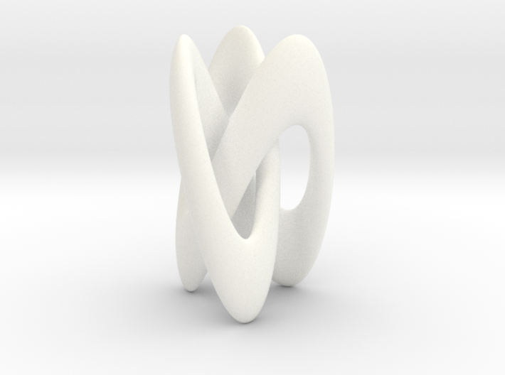 Trifold Knot - Smooth 3d printed