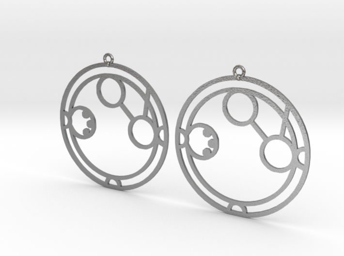 Amanda - Earrings - Series 1 3d printed