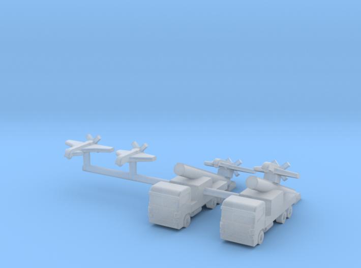 1/600 SAGEM Sperwer / Sperwer B UAV (x4) 3d printed