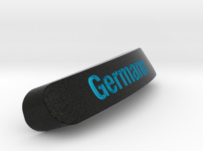 Germann Nameplate for SteelSeries Rival 3d printed