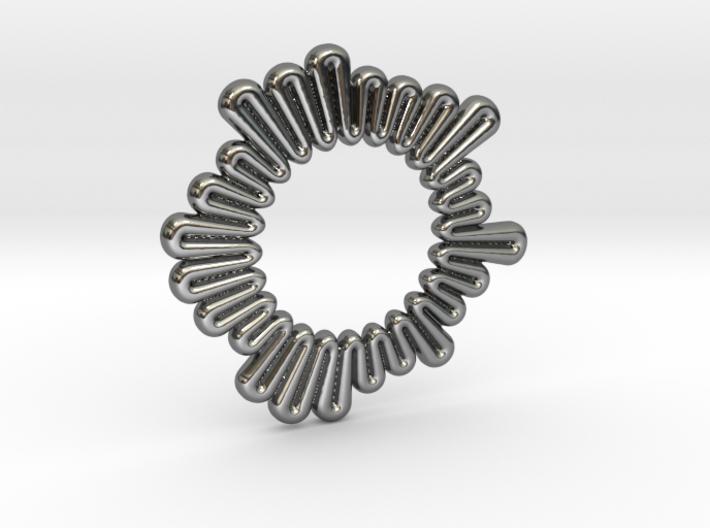 Burst pendant 3d printed