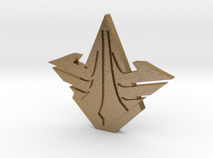 SkyGuard badge 3d printed