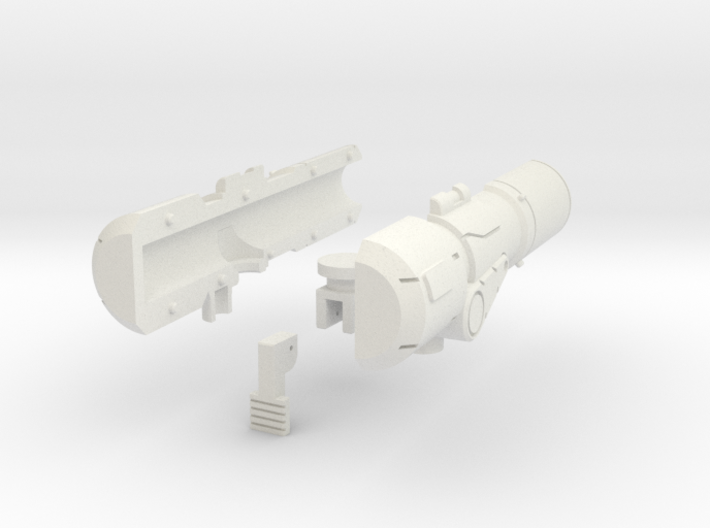 Brawn Cannon 3d printed