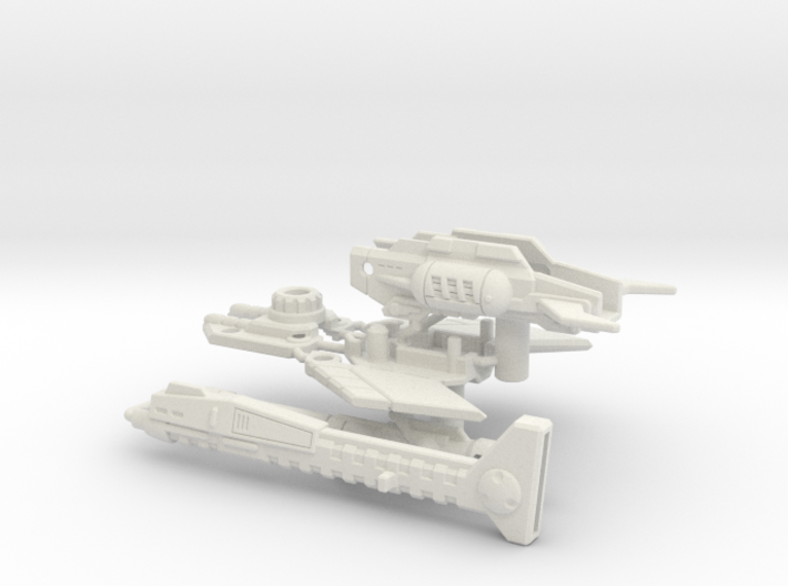Duopulse Discharger (full 5mm peg variant) 3d printed