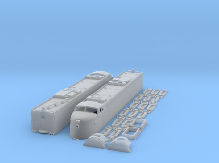 VGN EL-2B Virginian 3d printed