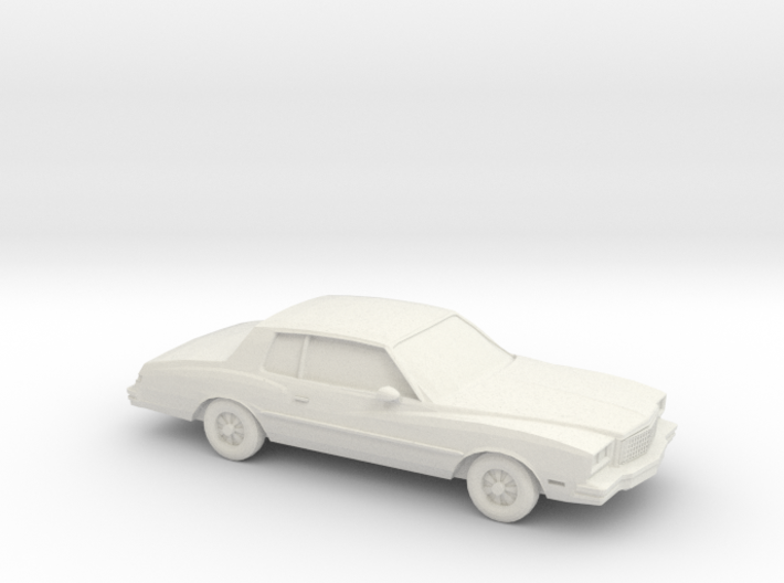 1/87 1980 Chevrolet Monte Carlo 3d printed