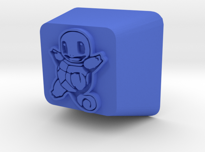 Squirtle Cherry MX R4 Keycap 3d printed