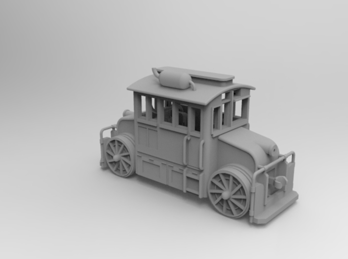1/87 Pennsylvania Railroad Rubber Tired Switchers 3d printed