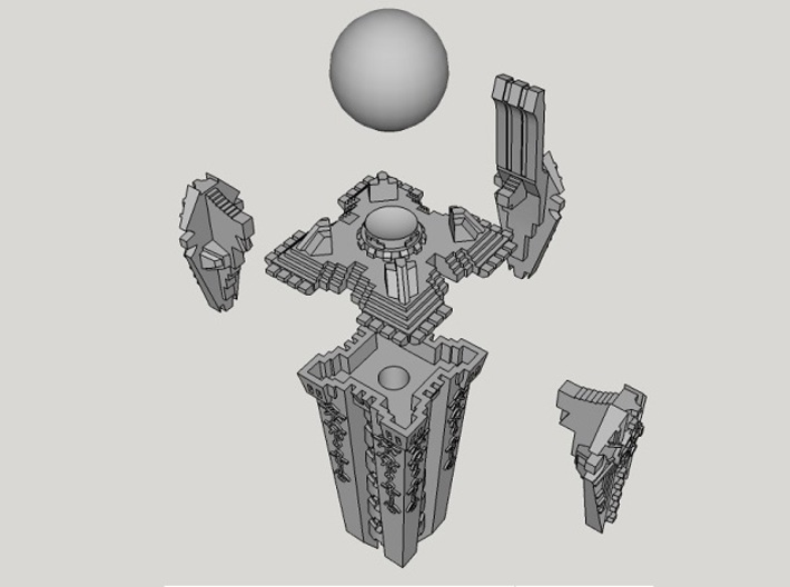 6mm DeathBot Aeonic Orb 3d printed