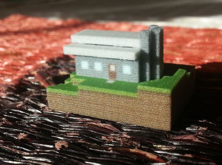 Seaside Bungalow 3d printed