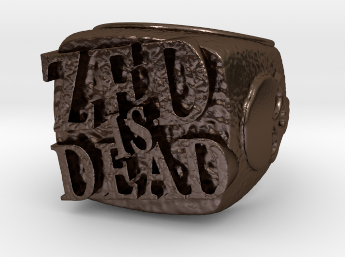 Zed is Dead Ring 3d printed