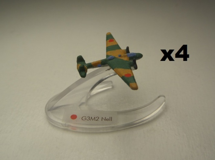 G3M2 Nell 1:900 x4 3d printed Comes unpainted without stands. Set of 4 planes.