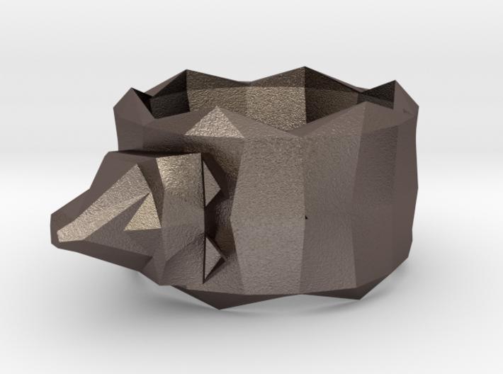 Napkin Holder Wolf 3d printed