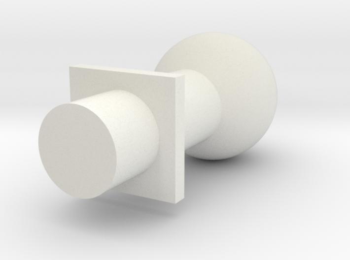 Ball Post 5 Mm 3d printed