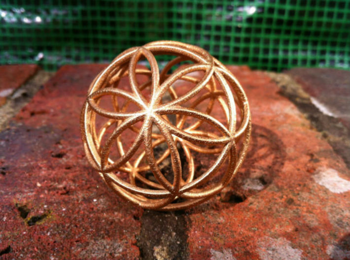 3D 300mm Orb of Life (3D Seed of Life) 3d printed