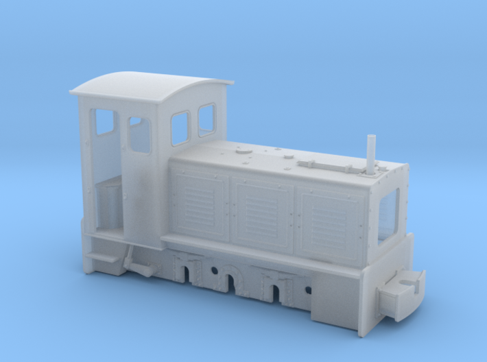 Feldbahnlok LKM Ns3f 1:35 Variante 1 3d printed