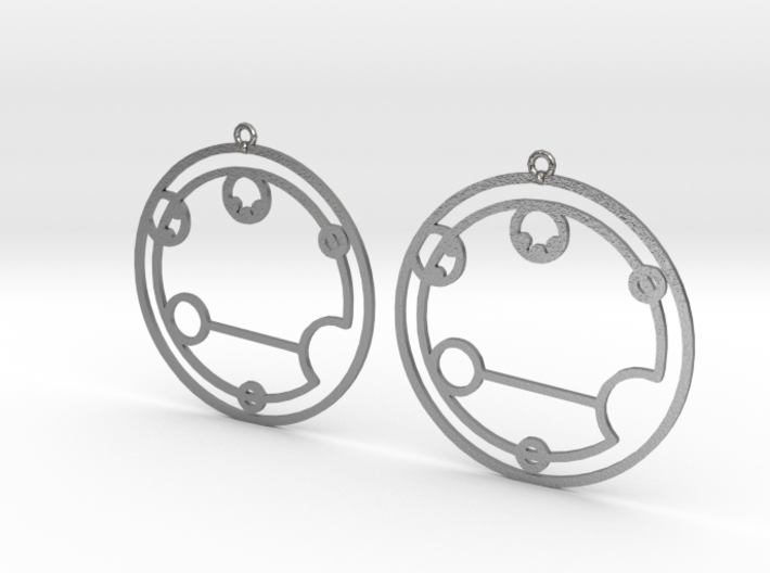 Evelyn - Earrings - Series 1 3d printed