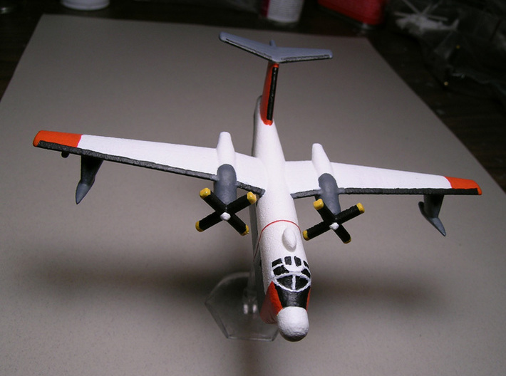1/400 Martin P5M-2 Marlin (x1) 3d printed 1/285 Version. Paintwork by Fred Oliver.