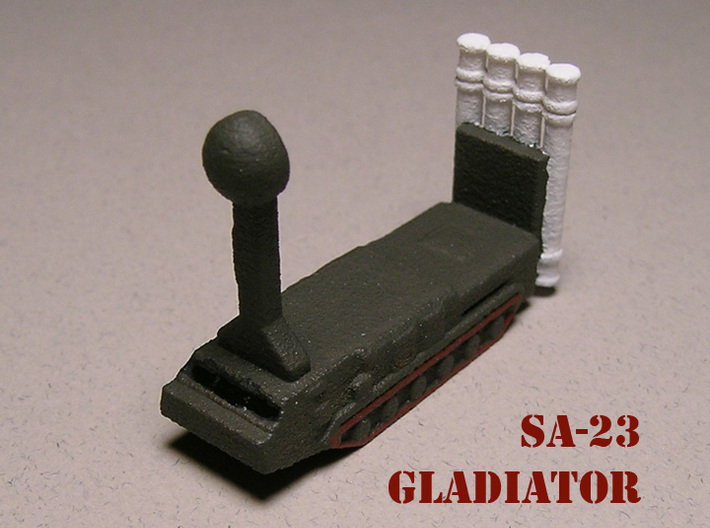 1/285 SA-23 Gladiator S-300VM (x6) 3d printed 1/285 Version. Paintwork by Fred Oliver.