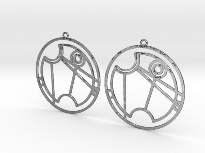 Vanessa - Earrings - Series 1 3d printed