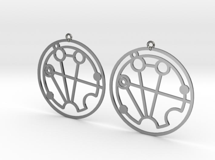 Stephanie - Earrings - Series 1 3d printed