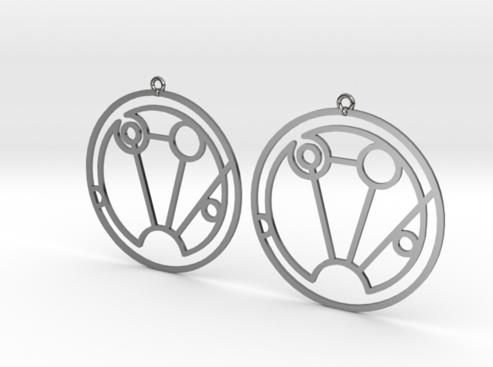 Sophia - Earrings - Series 1 3d printed
