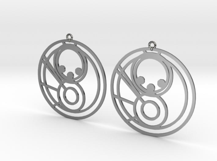 Milla - Earrings - Series 1 3d printed