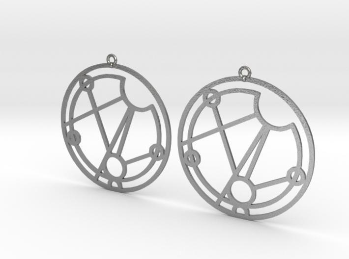 Maisie - Earrings - Series 1 3d printed