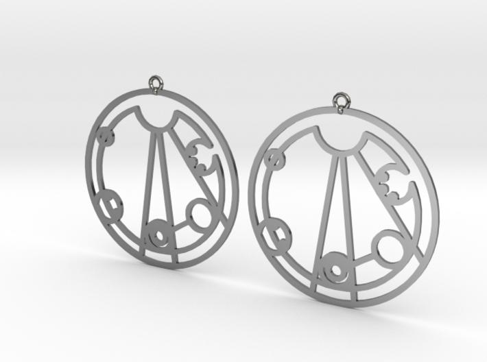 Lindsey - Earrings - Series 1 3d printed