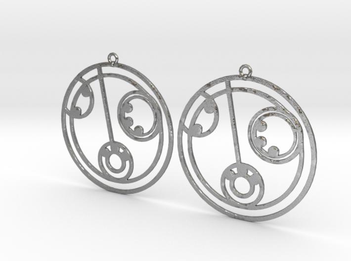 Lilly - Earrings - Series 1 3d printed