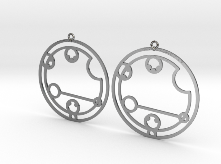 Caitlyn / Kaitlyn - Earrings - Series 1 3d printed