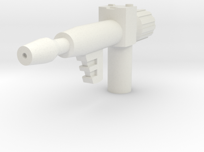 Generic Mini-guy Blaster (5mm handle) 3d printed