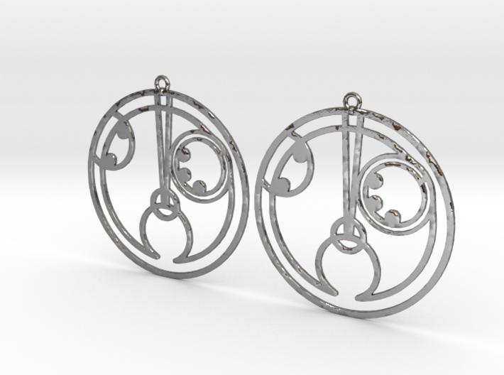 Holly - Earrings - Series 1 3d printed