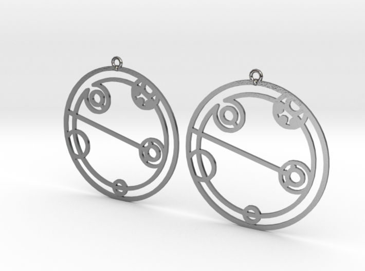 Elizabeth - Earrings - Series 1 3d printed