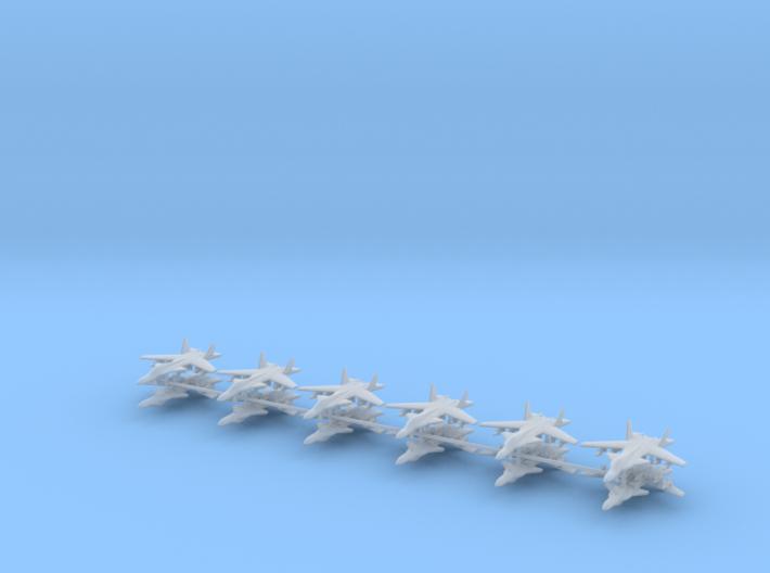1/700 Su-47 Berkut (x12) 3d printed