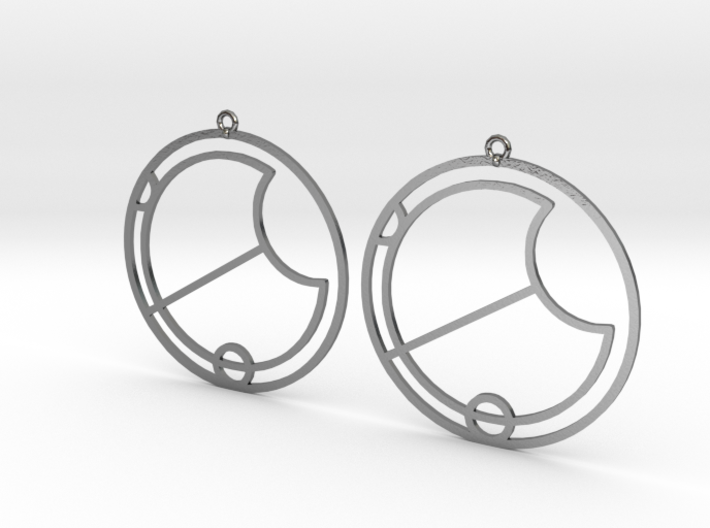 Eva - Earrings - Series 1 3d printed