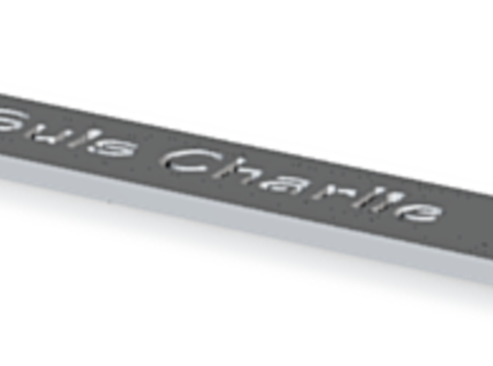 Je Suis Charlie Pencil 3d printed