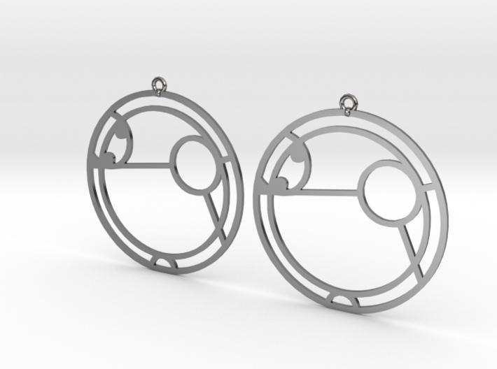 Amy - Earrings - Series 1 3d printed