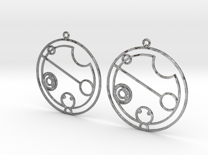 Chantelle - Earrings - Series 1 3d printed