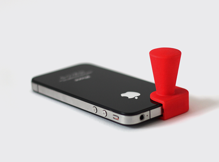 Iphone4 & Iphone4S Cone 3d printed