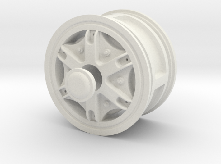 Wheel-front-wide 3d printed