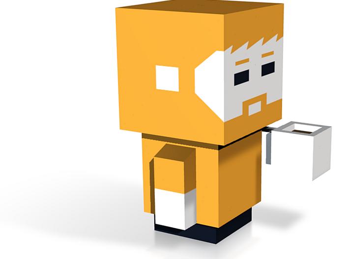 blockhead 3d printed