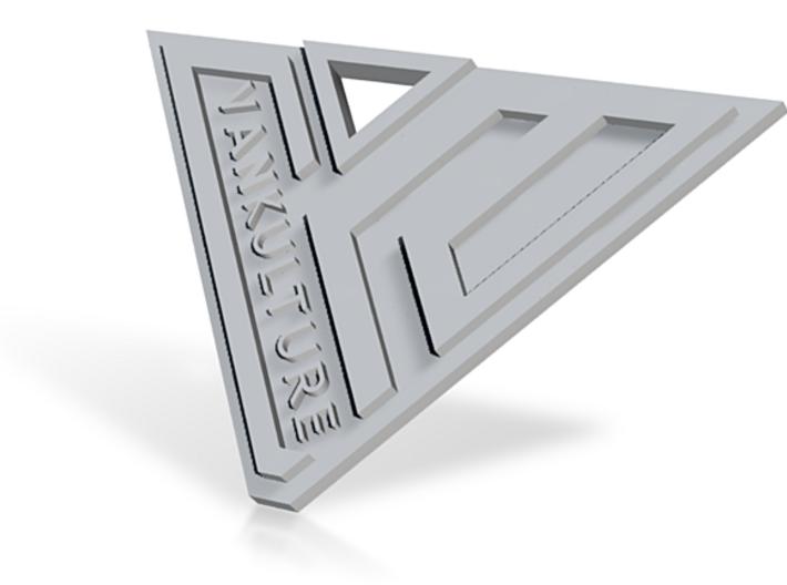 VANkulture Logo Keychain Pendant 3d printed