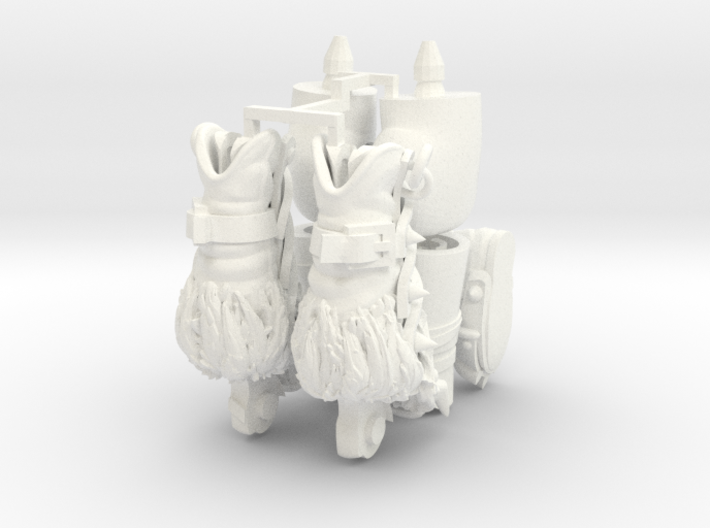 FB01-Legs-14s  6inch 3d printed