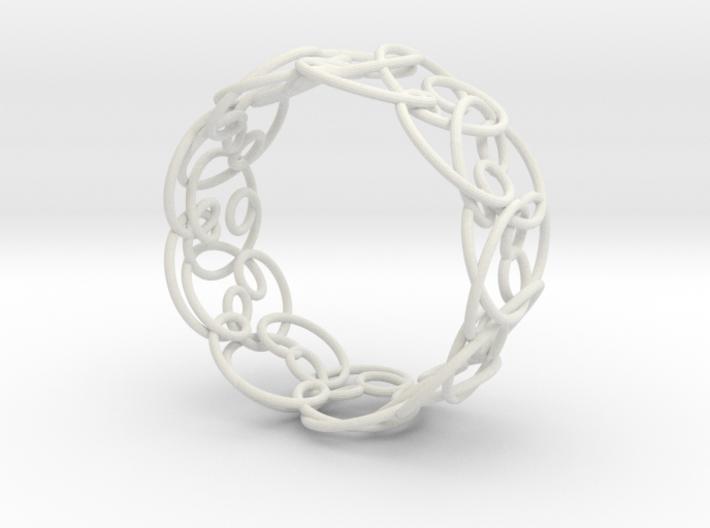 Doodle Bracelet 3d printed