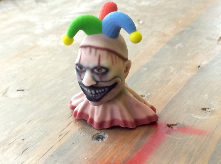 Twisty The Jester 3d printed