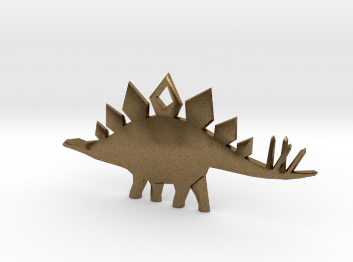 Stegosaurus Pendant 3d printed